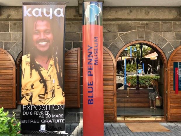 Kaya wystawa w Bleu Penny Museum w Port Louis